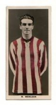 Football trade or ciggie insert card Sheffield United #411